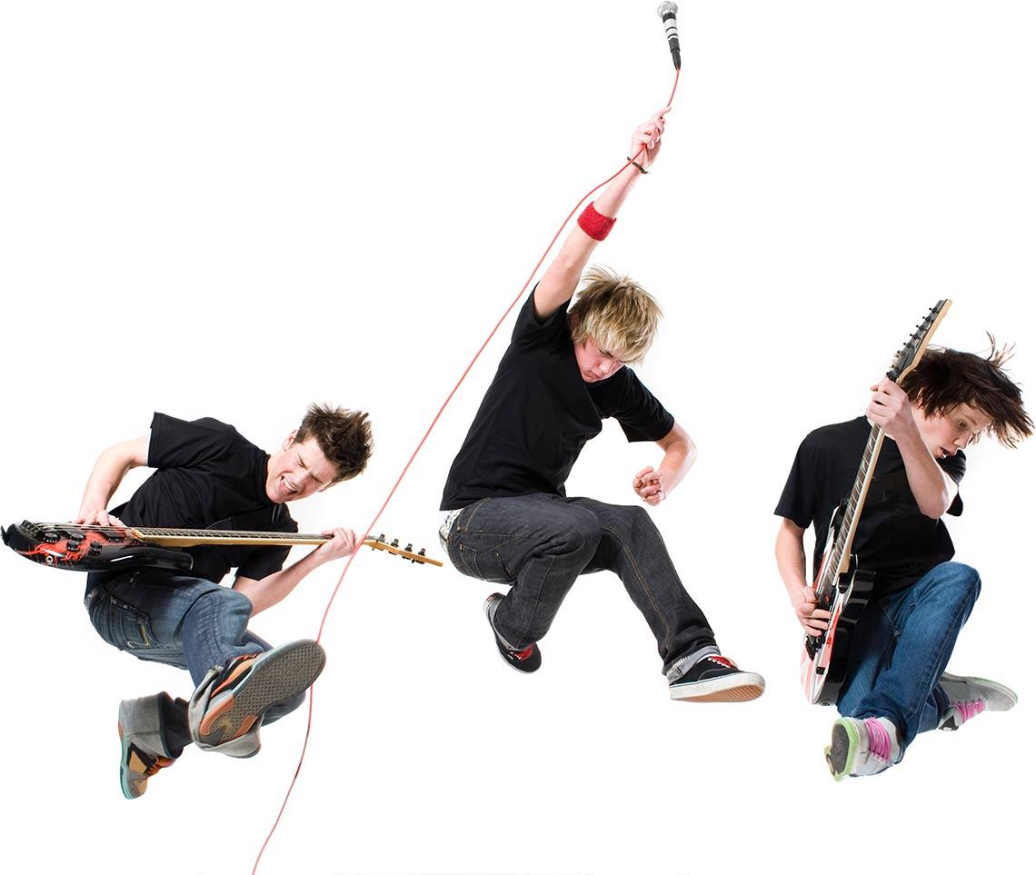 band-jumping